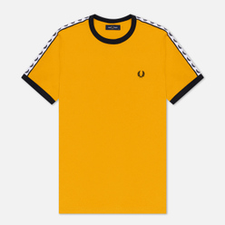 Мужская футболка Fred Perry Taped Ringer Gold