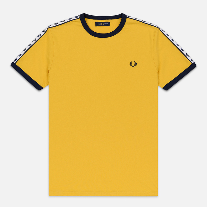 Мужская футболка Fred Perry Taped Ringer Sunglow
