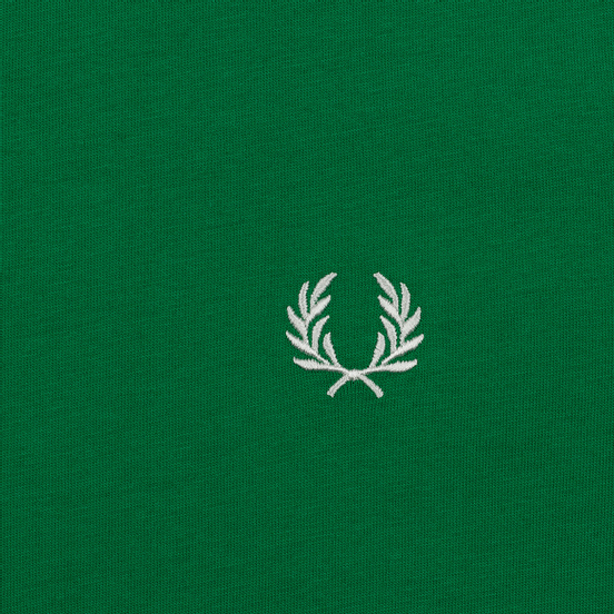 Мужская футболка Fred Perry Taped Shoudler Electric Green