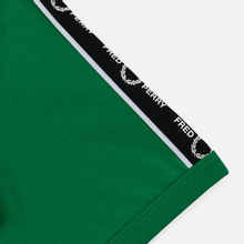 Мужская футболка Fred Perry Taped Shoudler Electric Green фото- 3