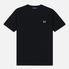 Мужская футболка Fred Perry Taped Side Black фото- 0