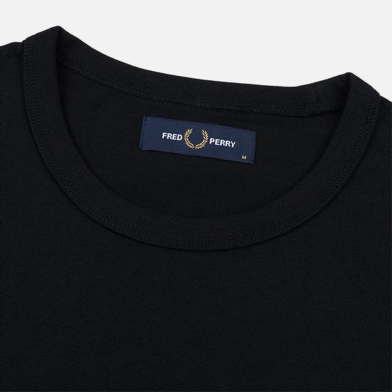 Мужская футболка Fred Perry Taped Side Black