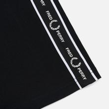 Мужская футболка Fred Perry Taped Side Black фото- 3