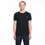 Мужская футболка Fred Perry Twin Tipped Black фото- 4