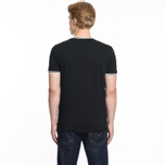 Мужская футболка Fred Perry Twin Tipped Black фото- 5