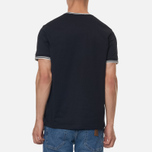 Мужская футболка Fred Perry Twin Tipped Black фото- 3