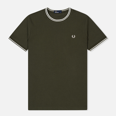 Мужская футболка Fred Perry Twin Tipped Forest Night