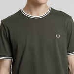 Мужская футболка Fred Perry Twin Tipped Forest Night фото- 3