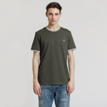 Мужская футболка Fred Perry Twin Tipped Forest Night фото- 1