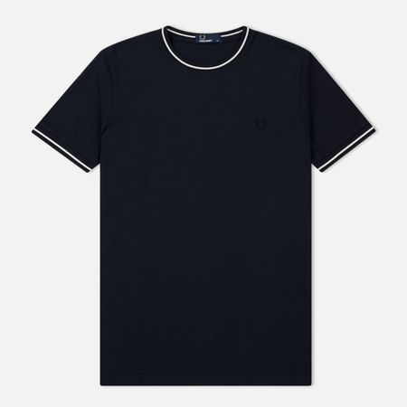 Мужская футболка Fred Perry Twin Tipped Navy