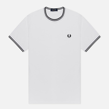 Мужская футболка Fred Perry Twin Tipped White фото- 0