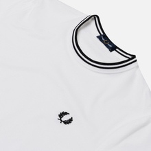 Мужская футболка Fred Perry Twin Tipped White фото- 1