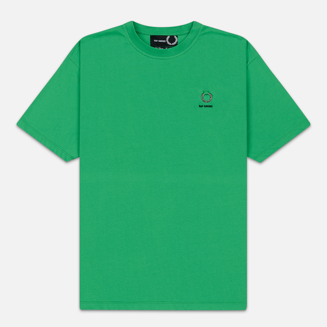 Мужская футболка Fred Perry x Raf Simons Back Print Fern Green