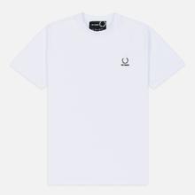 Мужская футболка Fred Perry x Raf Simons Laurel Detail White фото- 0