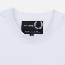 Мужская футболка Fred Perry x Raf Simons Laurel Detail White фото- 1