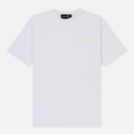 Мужская футболка Fred Perry x Raf Simons Tape Detail White