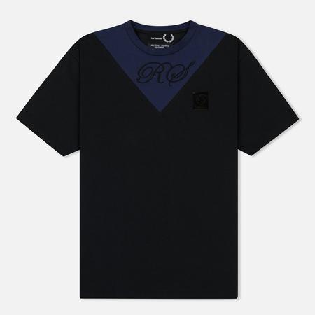 Мужская футболка Fred Perry x Raf Simons V-Insert Black