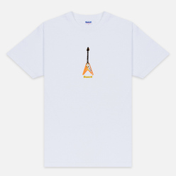 Мужская футболка Fuct Flying V White