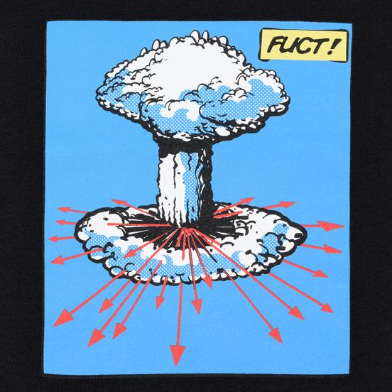 Мужская футболка Fuct Mushroom Nuke Black