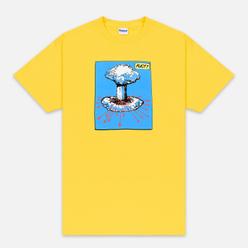 Мужская футболка Fuct Mushroom Nuke Gold