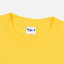 Мужская футболка Fuct Mushroom Nuke Gold фото- 1