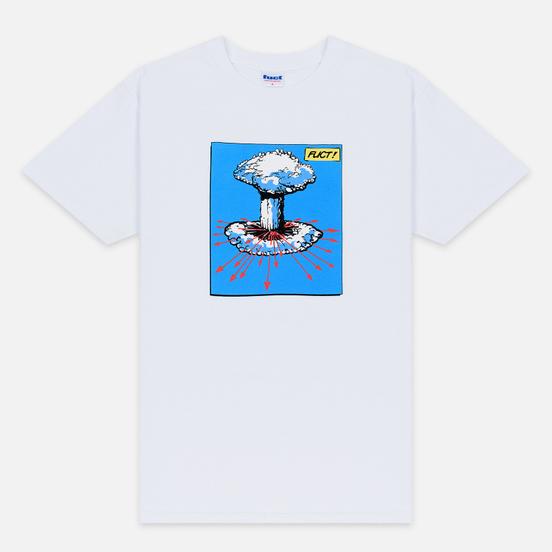 Мужская футболка Fuct Mushroom Nuke White