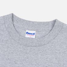 Мужская футболка Fuct Nappi Can Heather Grey фото- 1