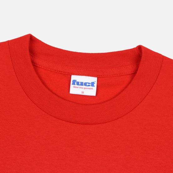 Мужская футболка Fuct OG Outline Red