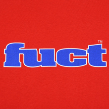 Мужская футболка Fuct OG Outline Red фото- 2