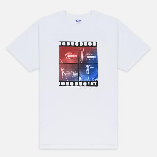 Мужская футболка Fuct Pulled Over White
