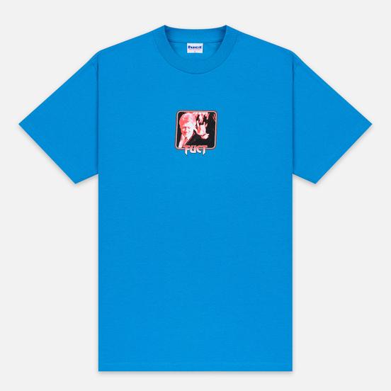 Мужская футболка Fuct Satanic Clinton Turquoise