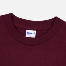 Мужская футболка Fuct Thick Cut Burgundy фото- 1
