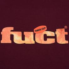 Мужская футболка Fuct Thick Cut Burgundy фото- 2