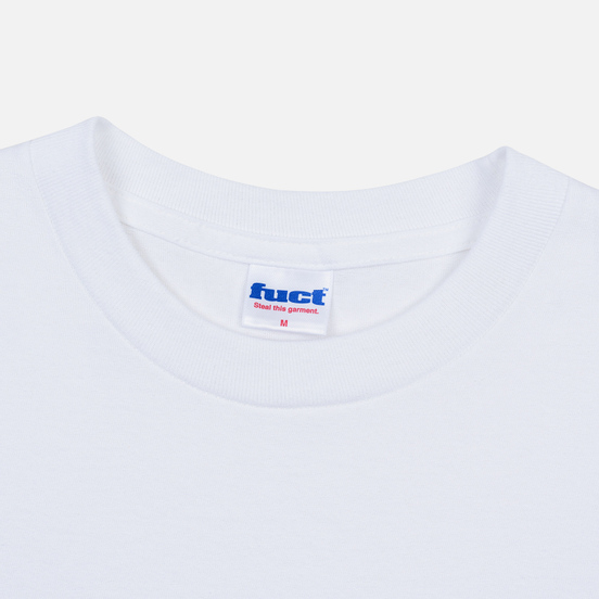 Мужская футболка Fuct Thick Cut White
