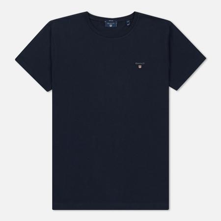 Мужская футболка Gant Basic The Original Evening Blue