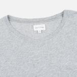 Мужская футболка Gant Rugger Pocket Light Grey Melange фото- 1