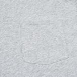 Мужская футболка Gant Rugger Pocket Light Grey Melange фото- 2