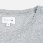 Мужская футболка Gant Rugger Pocket Light Grey Melange фото- 3