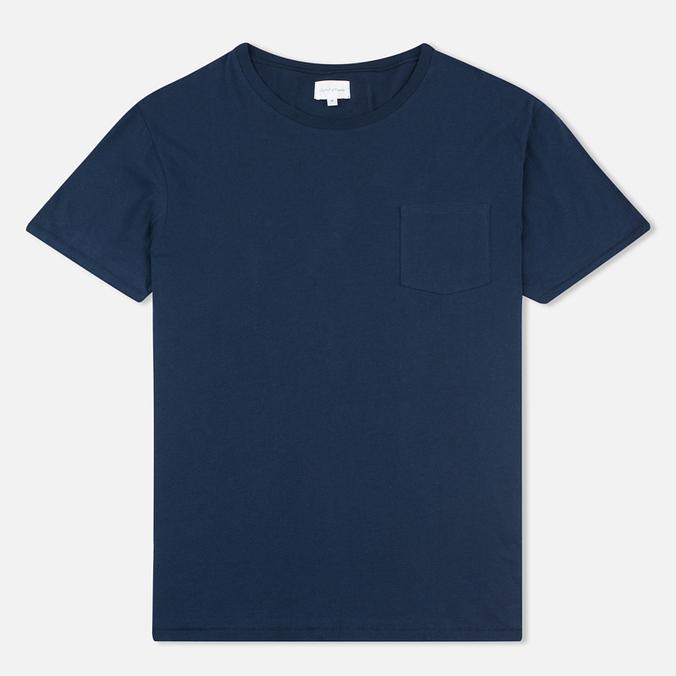 Мужская футболка Gant Rugger Pocket Thunder Blue