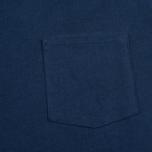 Мужская футболка Gant Rugger Pocket Thunder Blue фото- 2