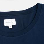 Мужская футболка Gant Rugger Pocket Thunder Blue фото- 3