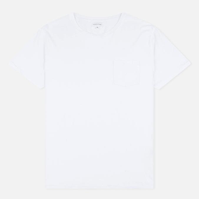 Мужская футболка Gant Rugger Pocket White