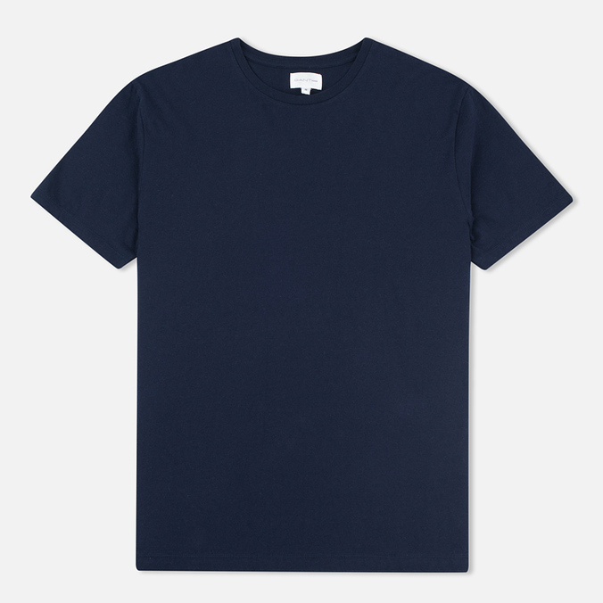 Мужская футболка Gant Rugger Short-Sleeved Evening Blue