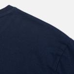 Мужская футболка Gant Rugger Short-Sleeved Evening Blue фото- 3