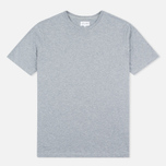 Мужская футболка Gant Rugger Short-Sleeved Grey Melange фото- 0