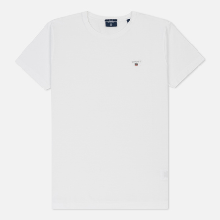 Мужская футболка Gant Basic The Original White