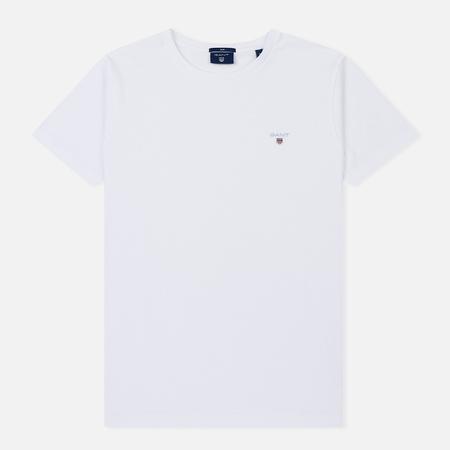 Мужская футболка Gant The Original Slim White