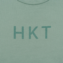 Мужская футболка Hackett Logo HKT Blue Green фото- 2