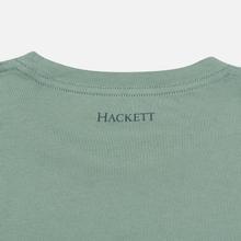 Мужская футболка Hackett Logo HKT Blue Green фото- 3