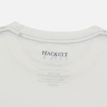 Мужская футболка Hackett Logo HKT White фото- 3